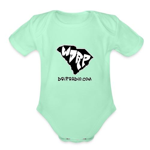 WDRP Drip Radio - Organic Short Sleeve Baby Bodysuit
