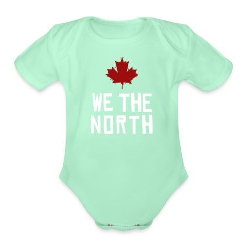 WE THE NORTH - Organic Short Sleeve Baby Bodysuit