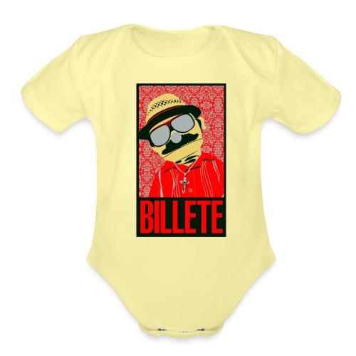 Billete Original Gangster - Organic Short Sleeve Baby Bodysuit