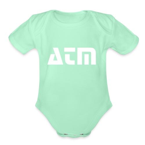 ATM - Organic Short Sleeve Baby Bodysuit