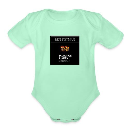 Ben Totman - Organic Short Sleeve Baby Bodysuit