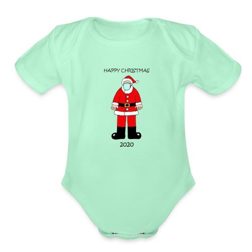 social Distancing Time - Organic Short Sleeve Baby Bodysuit