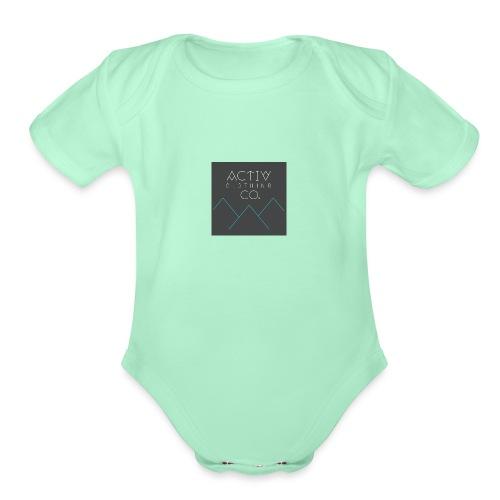 Activ Clothing - Organic Short Sleeve Baby Bodysuit