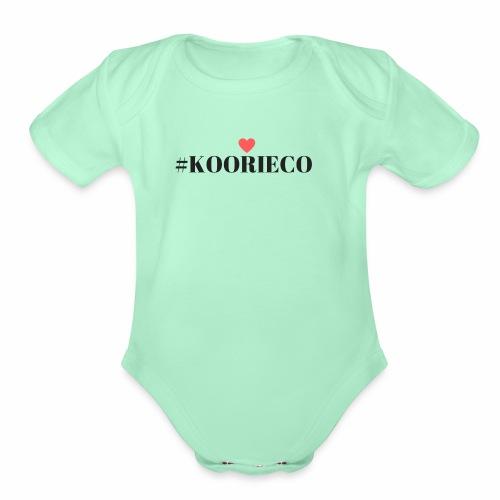 KOORIE CO - Organic Short Sleeve Baby Bodysuit
