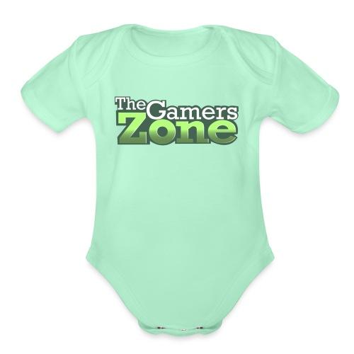 THE GAMERS ZONE - Organic Short Sleeve Baby Bodysuit