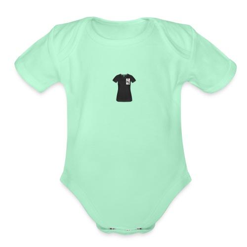 1 width 280 height 280 - Organic Short Sleeve Baby Bodysuit