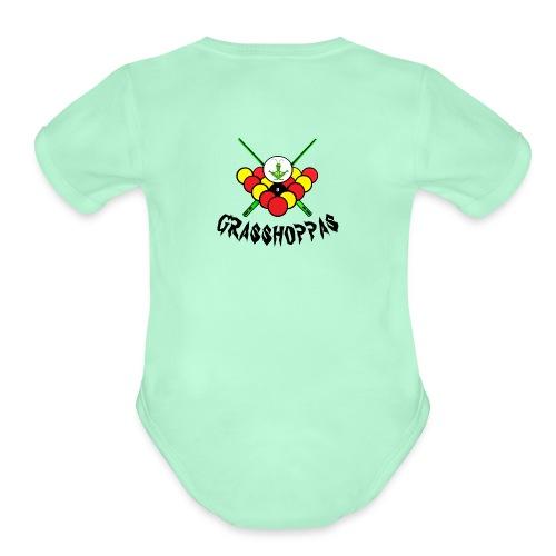 Grasshoppas - Organic Short Sleeve Baby Bodysuit