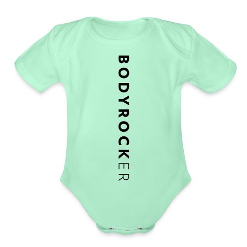 BRer Vertical - Organic Short Sleeve Baby Bodysuit