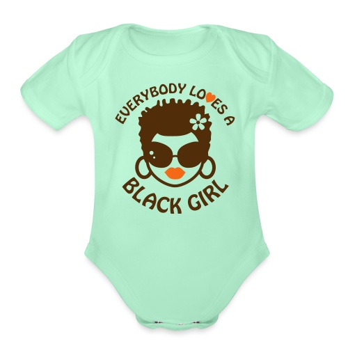 everybodyloves4 - Organic Short Sleeve Baby Bodysuit