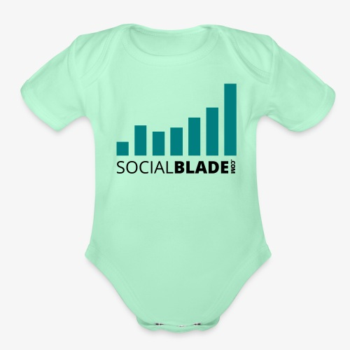 Traditional Logo - Organic Short Sleeve Baby Bodysuit