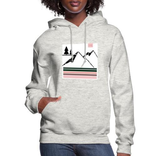 Mountain Design - Women's Hoodie