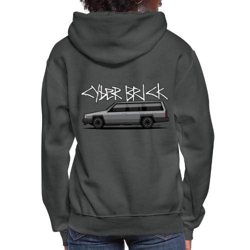 Cyberbrick Future Electric Wagon Graffiti - Women's Hoodie