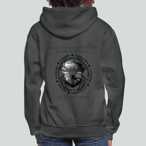 THE ONLY THING TO FEAR-on light back- 2 sided - Women's Hoodie