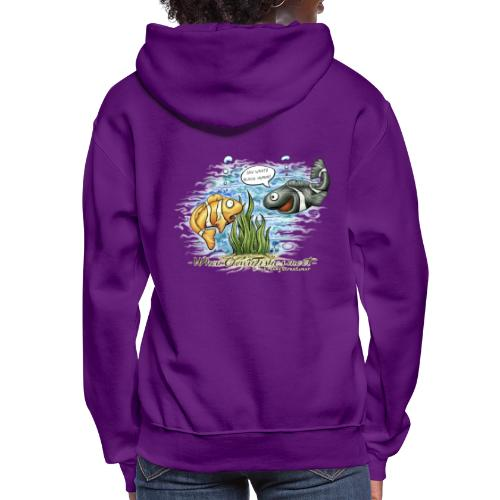 when clownfishes meet - Women's Hoodie