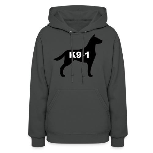 k9-1 Logo Large - Women's Hoodie