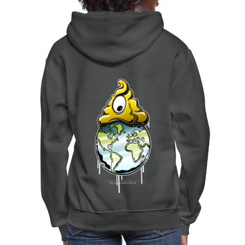 shit rules the world - Women's Hoodie