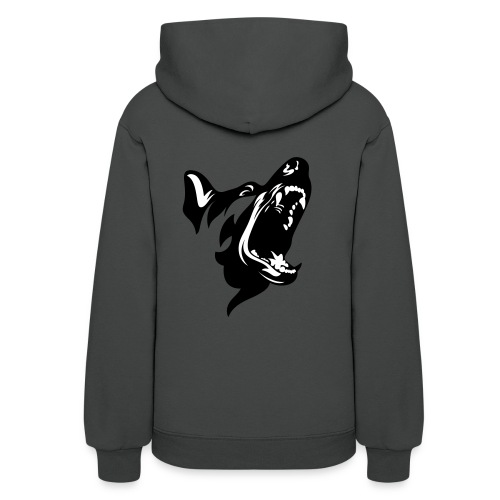 German Shepherd Dog Head - Women's Hoodie