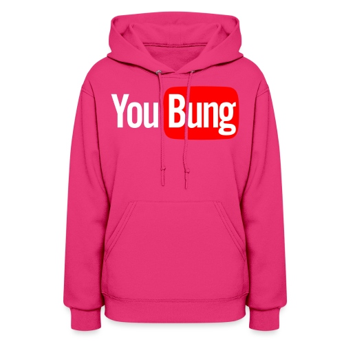 You Bung Logo White png - Women's Hoodie