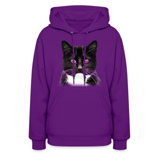 Cool Cat Magenta - Women's Hoodie