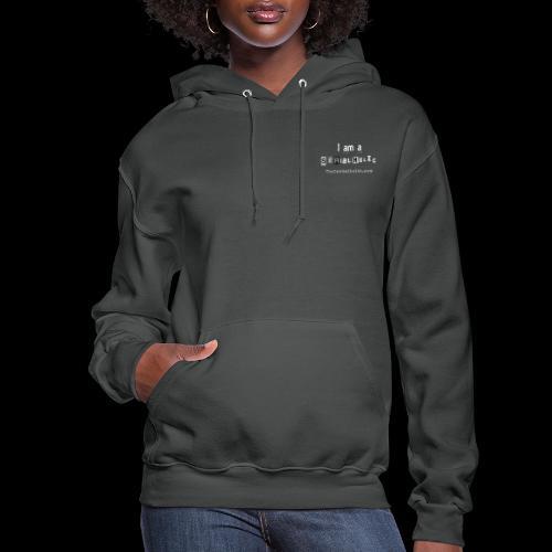 White Serialholic Logo - Women's Hoodie