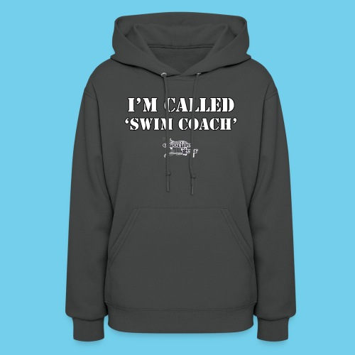 They call me Coach Front - Women's Hoodie