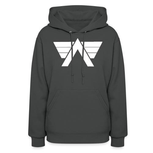 Bordeaux Sweater White AeRo Logo - Women's Hoodie