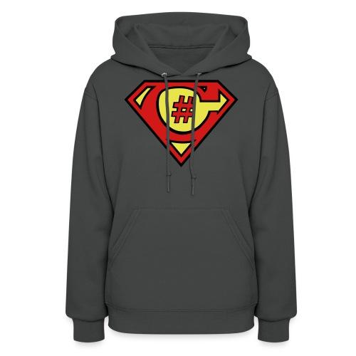 C# Hero Woman - Women's Hoodie