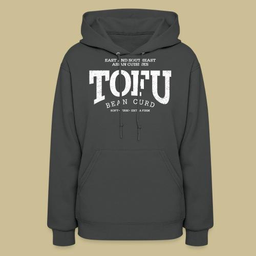 Tofu (white oldstyle) - Women's Hoodie