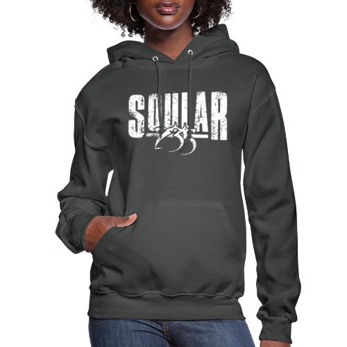 Soular235 White Logo - Women's Hoodie