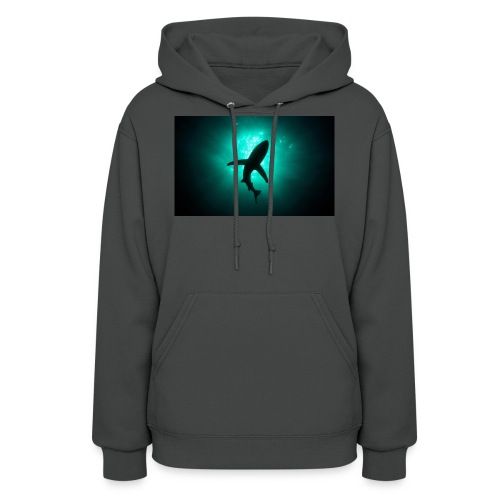 Shark in the abbis - Women's Hoodie