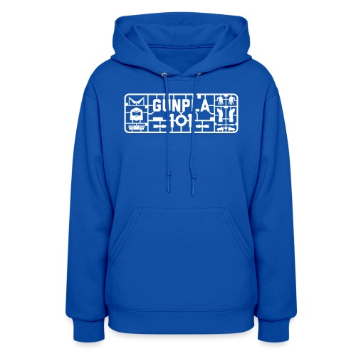 Gunpla 101 Men's T-shirt — Zeta Blue - Women's Hoodie