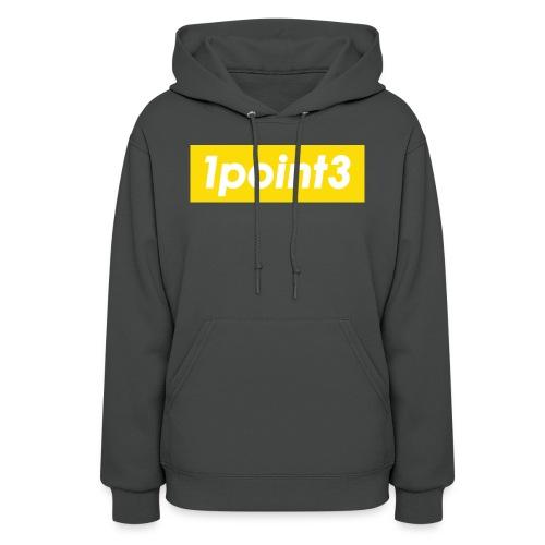 1point3 yellow - Women's Hoodie