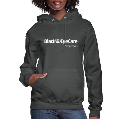 02 BlackEYeCareLogo Transparent 2 - Women's Hoodie