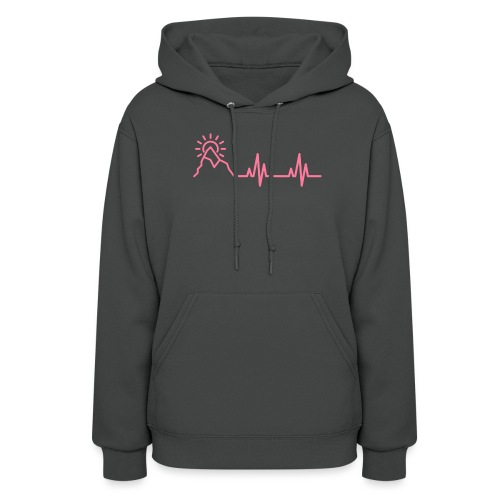 The Heartbeat of a Wanderer - Women's Hoodie