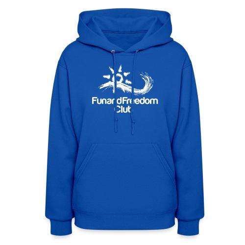logo_FFClub_new1white - Women's Hoodie