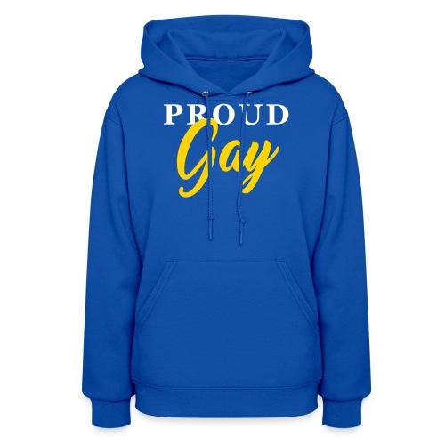 Proud Gay T-Shirt - Women's Hoodie