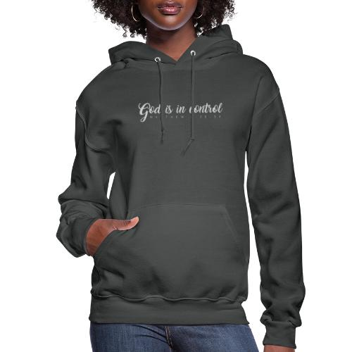 God is in control - Matthew 6:25-34 - Women's Hoodie