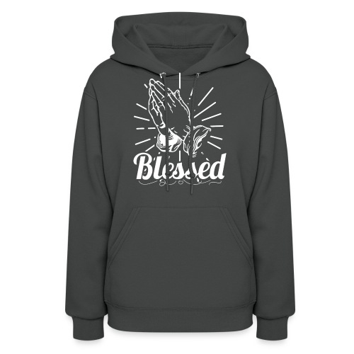 Blessed (White Letters) - Women's Hoodie