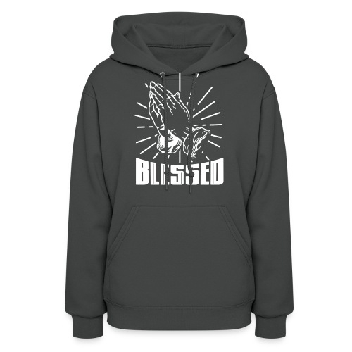 Blessed - Alt. Design (White Letters) - Women's Hoodie