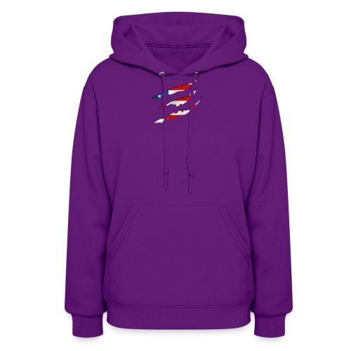 3D American Flag Claw Marks T-shirt for Men - Women's Hoodie