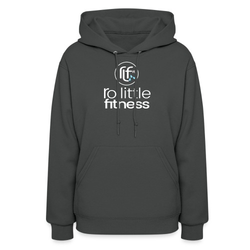 Ro Little Fitness - outline logo - Women's Hoodie