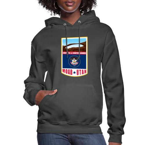 Utah - Moab, Arches & Canyonlands - Women's Hoodie