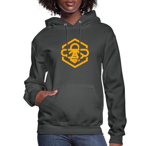 bee symbol orange - Women's Hoodie