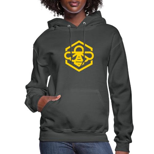 bee symbol orange - Women's Hoodie