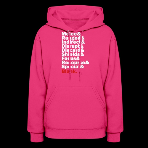 Discard to Reroll - Sides of the Die - Women's Hoodie