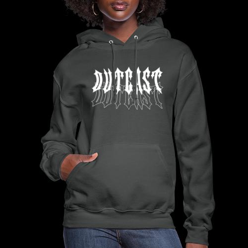 outcast stacked logo - Women's Hoodie