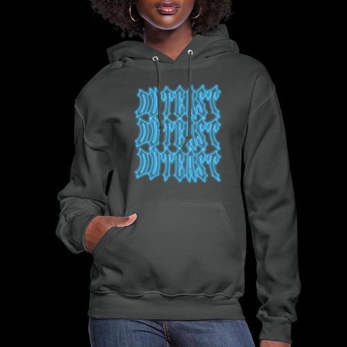 outcast x3 blue - Women's Hoodie