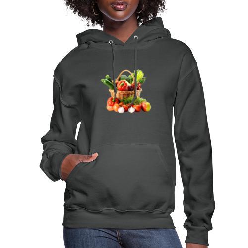 Vegetable transparent - Women's Hoodie