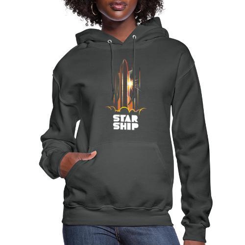 Star Ship Mars - Dark - Women's Hoodie