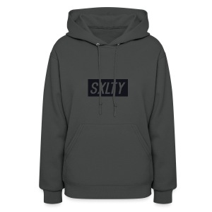 *Dark Blue SXLTY Logo* REGULAR TSHIRT. - Women's Hoodie
